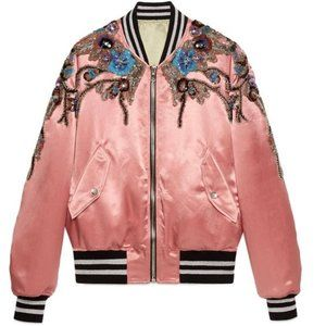 Gucci Embellished Bomber Jacket